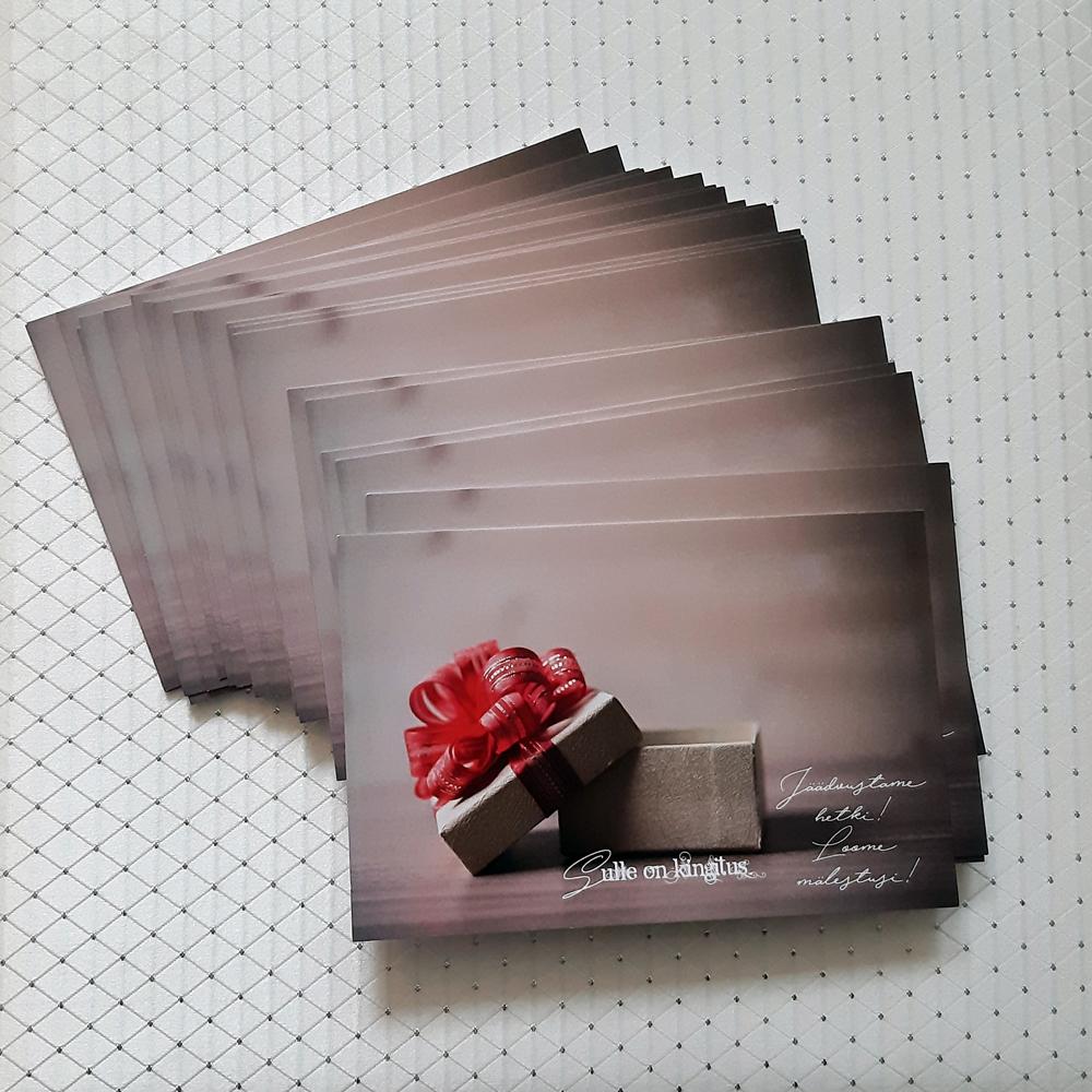 Fotosioon Fotostuudio kinkekaart